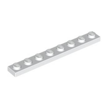 LEGO 346001 PLATE 1X8 - WHITE