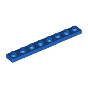 LEGO 346023 PLATE 1X8 - BLUE