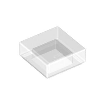 LEGO 6047501 PLATE LISSE 1X1 - TRANSPARENT