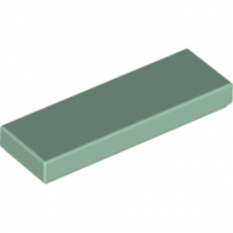 LEGO 6202626 PLATE LISSE 1X3 - SAND GREEN lego-6202626-plate-lisse-1x3-sand-green ici :