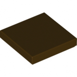 LEGO 6179803 - PLATE LISSE 2X2 - DARK BROWN