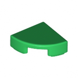 LEGO 6150607 PLATE LISSE ROND1/4 ROND 1X1 - DARK GREEN