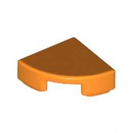 LEGO 6173925 PLATE LISSE ROND1/4 ROND 1X1 - ORANGE