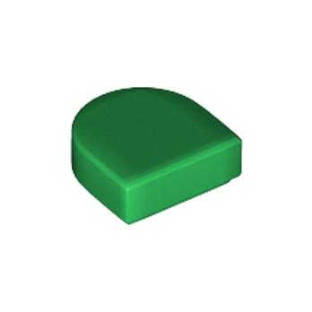 LEGO 6174154 PLATE LISSE 1x1 ½  - DARK GREEN