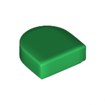 LEGO 6250600 FLAT TILE 1x1 ½  - DARK GREEN