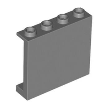 LEGO 6008715 MUR / CLOISON 1X4X3 - DARK STONE GREY