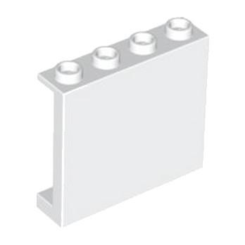 LEGO 4558208 MUR / CLOISON 1X4X3, ABS - BLANC