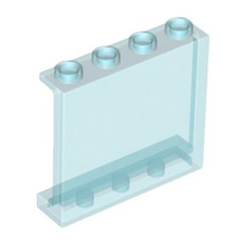 LEGO 4594685 MUR / CLOISON 1X4X3 - BLEU TRANSPARENT