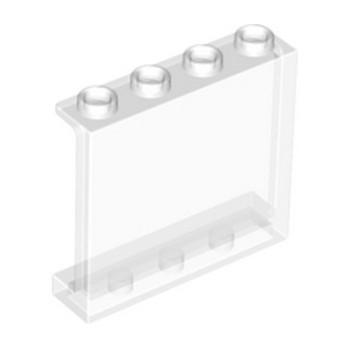 LEGO 4594686  MUR / CLOISON 1X4X3 - TRANSPARENT