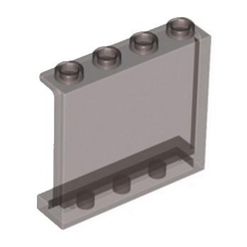 LEGO 4570398 MUR / CLOISON 1X4X3 - MARRON TRANSPARENT