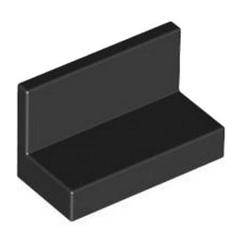 LEGO 486526 MUR / CLOISON  1X2X1 - NOIR lego-6146220-mur-cloison-1x2x1-noir ici :