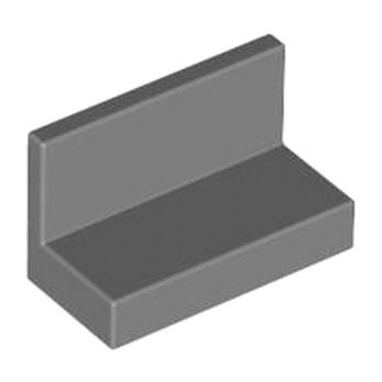 LEGO 4211117 MUR / CLOISON 1X2X1 - DARK STONE GREY