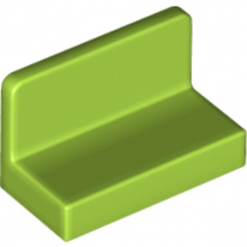 LEGO 6146237 MUR CLOISON 1X2X1 - BRIGHT YELLOWISH GREEN