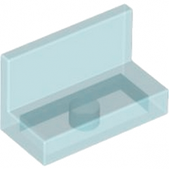 LEGO 3001042 MUR / CLOISON 1X2X1 - BLEU TRANSPARENT