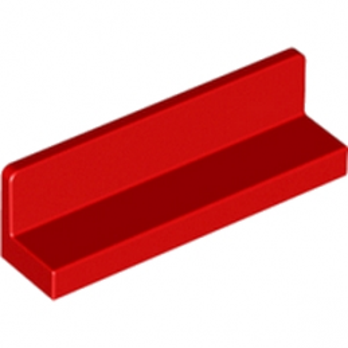 LEGO 4142860 MUR / CLOISON 1X4X1 - ROUGE