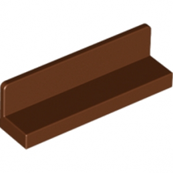 LEGO 4211263 MUR / CLOISON 1X4X1 - REDDISH BROWN