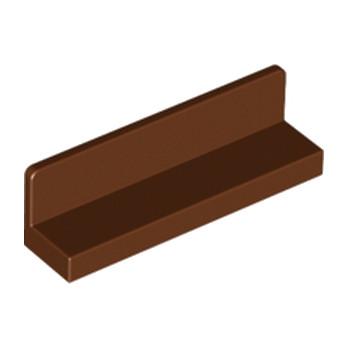 LEGO 4211263 MUR / CLOISON 1X4X1 - REDDISH BROWN lego-6092659-mur-cloison-1x4x1-reddish-brown ici :