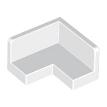 LEGO 4610290  MUR / CLOISON D'ANGLE 2X2 - BLANC