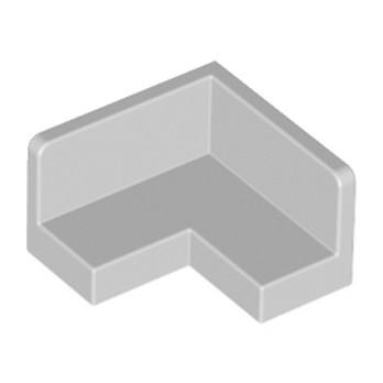 LEGO 6008311 MUR / CLOISON D'ANGLE 2X2 - MEDIUM STONE GREY