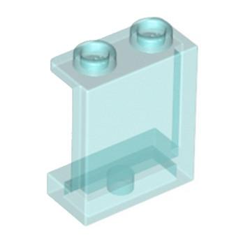 LEGO 4640026 MUR / CLOISON 1X2X2 - BLEU TRANSPARENT