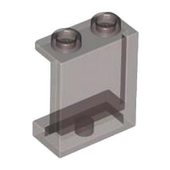 LEGO 4638658 MUR / CLOISON 1X2X2 - MARRON TRANSPARENT