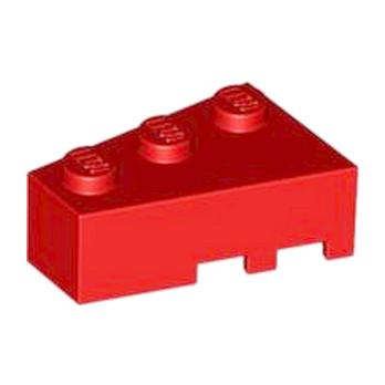 LEGO 4527765 BRIQUE 1 ANGLE COUPE GAUCHE  2X3 - ROUGE