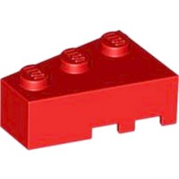 LEGO 6256588 LEFT ROOF TILE 2X3 - RED