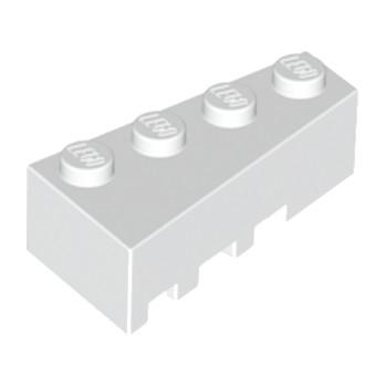 LEGO 4160325 BRIQUE 1 ANGLE COUPE DROITE  2X4 - BLANC lego-4160325-brique-1-angle-coupe-droite-2x4-blanc ici :