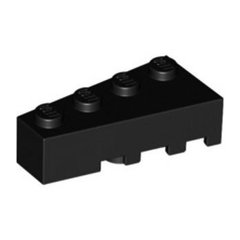 LEGO 6078889 BRIQUE 1 ANGLE COUPE GAUCHE  2X4 - NOIR