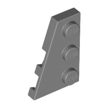 LEGO 4210872 PLATE 2X3 ANGLE GAUCHE - DARK STONE GREY lego-4210872-plate-2x3-angle-gauche-dark-stone-grey ici :