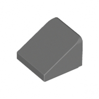 LEGO 4244373 TUILE 1X1X2/3 - DARK STONE GREY