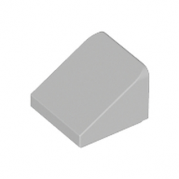 LEGO 4244372 TUILE  1X1X2/3 - MEDIUM STONE GREY