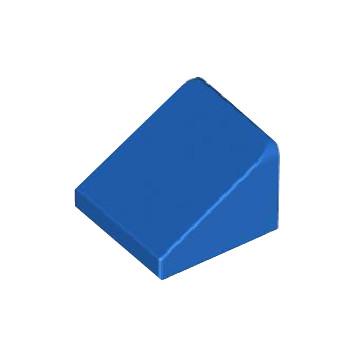 LEGO 4277780 TUILE 1X1X2/3 - BLEU