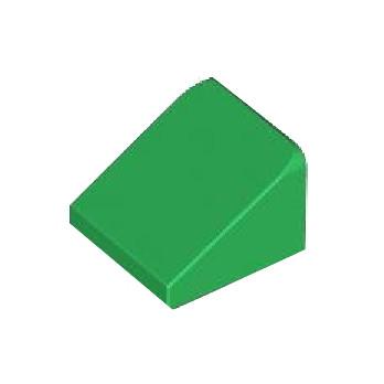 LEGO 4503118 TUILE 1X1X2/3 - DARK GREEN