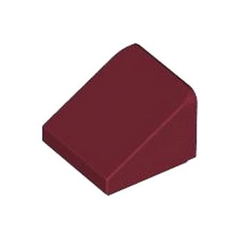LEGO 4258310 TUILE 1X1X2/3 - NEW DARK RED