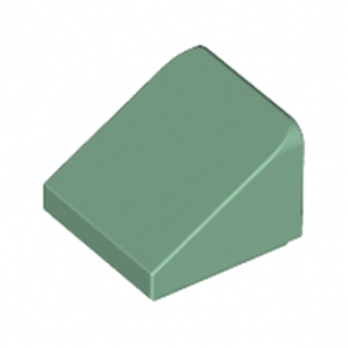 LEGO 4652205 TUILE 1X1X2/3 - SAND GREEN