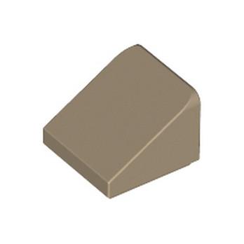 LEGO 6040126 TUILE 1X1X2/3 - SAND YELLOW lego-6040126-tuile-1x1x23-sand-yellow ici :