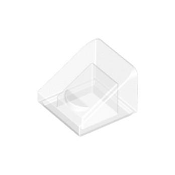 LEGO 4244362 TUILE 1X1X2/3 - TRANSPARENT