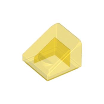 LEGO 4244367 TUILE 1X1X2/3 - JAUNE TRANSPARENT