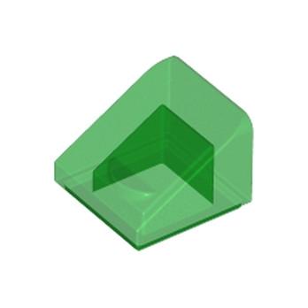 LEGO 4244573 TUILE 1X1X2/3 - VERT TRANSPARENT lego-6245270-tuile-1x1x23-vert-transparent ici :