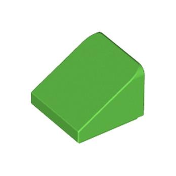 LEGO 4647546 TUILE 1X1X2/3 - BRIGHT GREEN