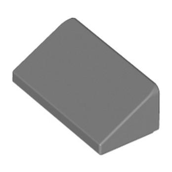 LEGO 4567887 TUILE 1 X 2 X 2/3 - DARK STONE GREY