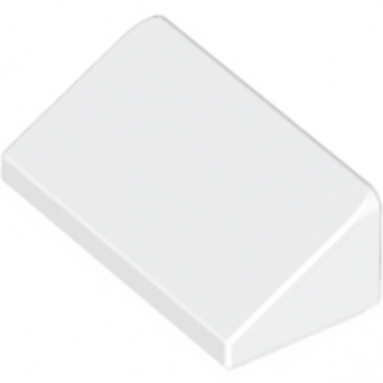 LEGO 4547489 TUILE 1 X 2 X 2/3 - BLANC