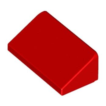 LEGO 4651524 TUILE 1 X 2 X 2/3 - ROUGE