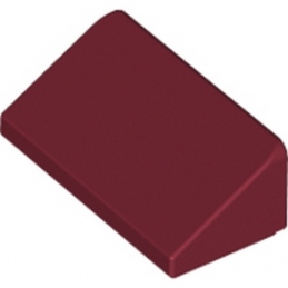 LEGO 6083977 TUILE 1 X 2 X 2/3 - NEW DARK RED