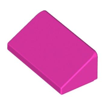 LEGO 6178247 TUILE 1 X 2 X 2/3 - ROSE