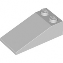 LEGO 4211618 TUILE 2X4X1, 18° - MEDIUM STONE GREY