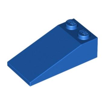 LEGO 4124107 TUILE 2X4X1, 18° - BLEU
