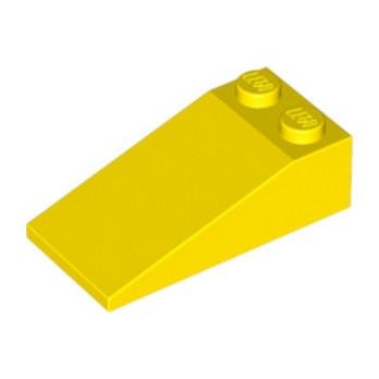 LEGO 4124463 TUILE 2X4X1, 18° - JAUNE