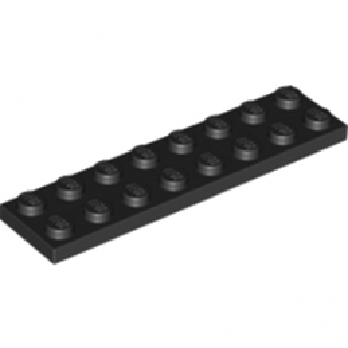 LEGO 303426 PLATE 2X8 -NOIR